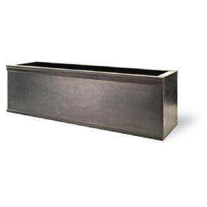 Chelsea Window Box & trough Planters In faux lead From potstore.co.uk